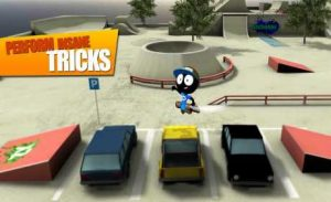 اسکرین-شات-Stickman-Skate-Battle