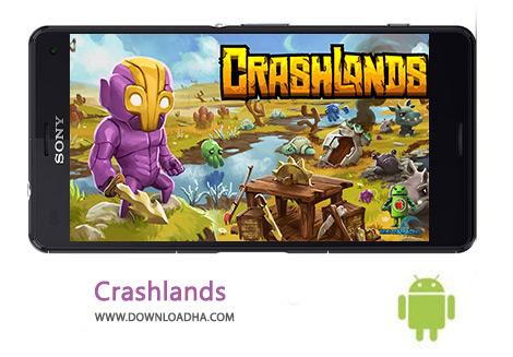 دانلود بازی نقش آفرینی اندروید Crashlands 1.3.24