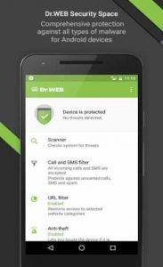 اسکرین-شات-Dr.Web-Security-Space-Life