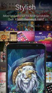 اسکرین-شات-GO-Launcher-Z-Prime