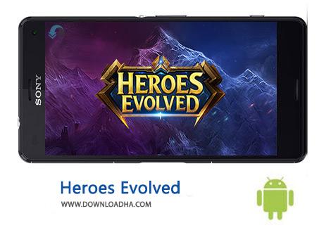 کاور-Heroes-Evolved