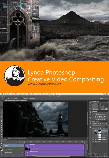 ویدیو-آموزشی-lynda-photoshop-creative-video-compositing