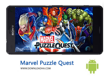 کاور-Marvel-Puzzle-Quest