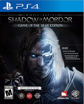 دانلود نسخه هک شده بازی Middle-earth Shadow of Mordor GOTY برای PS4