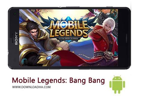 دانلود بازی اکشن قهرمانان موبایل برای اندروید Mobile Legends: Bang Bang 1.3.16.3223