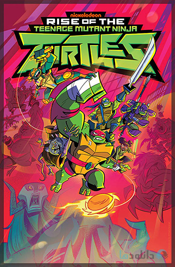 کاور-Rise-of-the-Teenage-Mutant-Ninja-Turtles