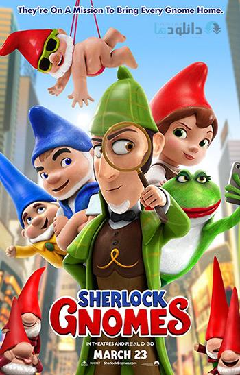دانلود Sherlock Gnomes 2018 – انیمیشن شرلوک گنومز + زیرنویس فارسی