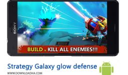 کاور-Strategy-Galaxy-glow-defense