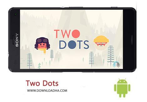 دانلود بازی پازل دو نقطه برای اندروید Two Dots 4.2.1