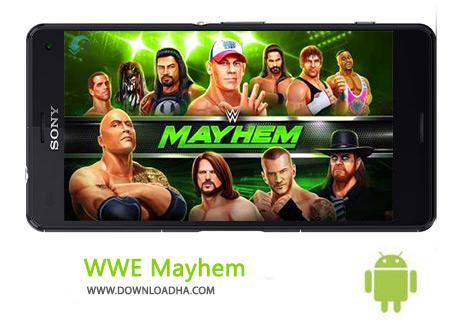 کاور-WWE-Mayhem