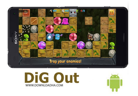 بازی-dig-out-اندروید