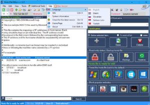 اسکرین-شات-Hosts-File-Editor