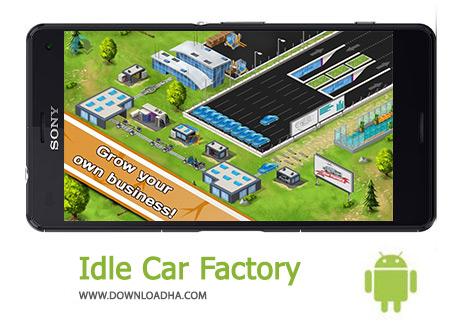 دانلود Idle Car Factory 12.1.1 – بازی کارخانه ماشین برای اندروید