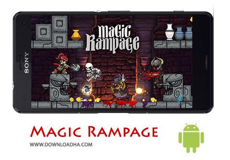 کاور-Magic-Rampage