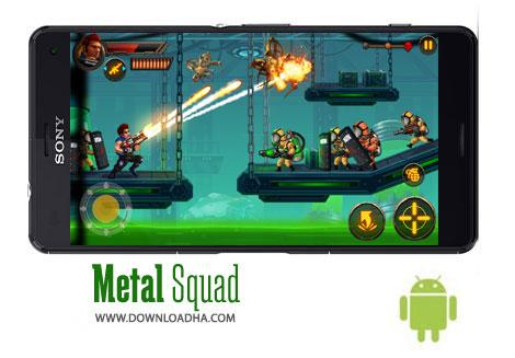 بازی-metal-squad-اندروید