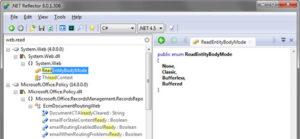 اسکرین-شات-Red Gate .NET Reflector-ss1