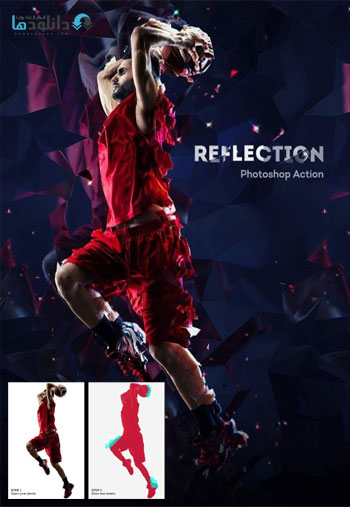 اکشن-فتوشاپ-reflection-photoshop-action