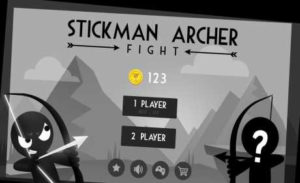 اسکرین-شات-Stickman-Archer-Fight