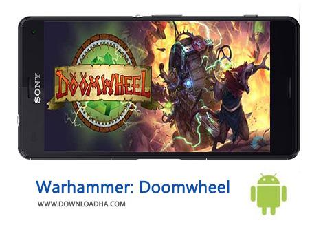 کاور-Warhammer-Doomwheel