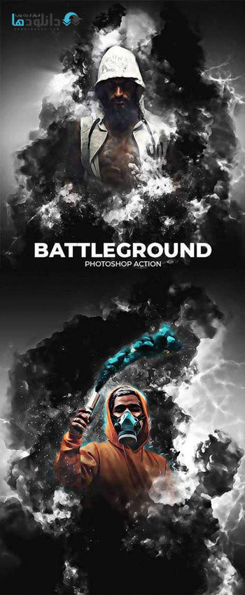 اکشن-فتوشاپ-battleground-photoshop-action