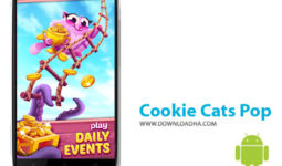 بازی-cookie-cats-pop-اندروید