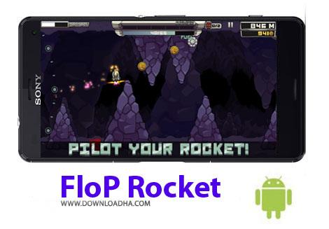 بازی-flop-rocket-اندروید