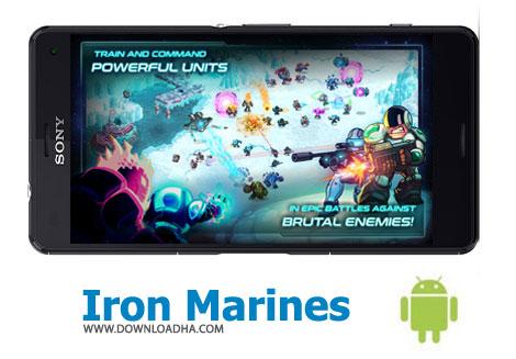 بازی-iron-marines-اندروید
