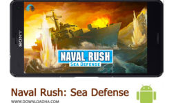 کاور-Naval-Rush-Sea-Defense
