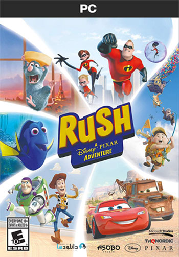 دانلود-بازی-Rush-A-DisneyPixar-Adventure