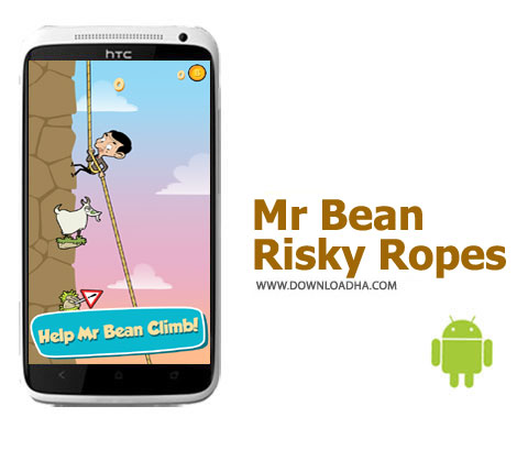 کاور-بازی-mr-bean-risky-ropes