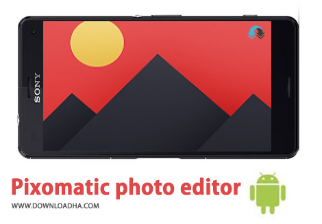 کاور-Pixomatic-photo-editor