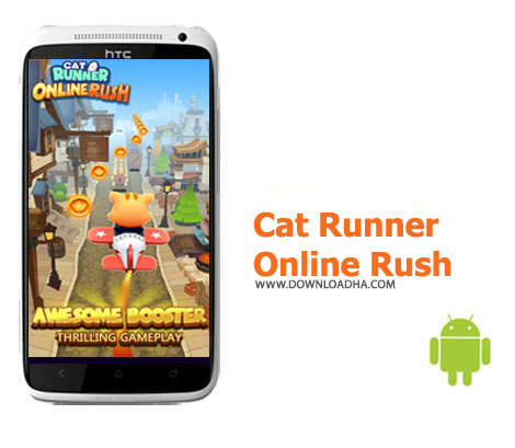 بازی-cat-runner-online-rush-اندروید