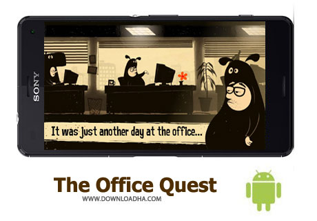 کاور-بازی-the-office-quest