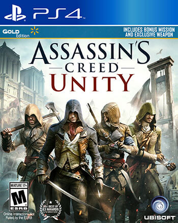 دانلود-بازی-Assassin's-Creed-Unity-ps4-gold-edition