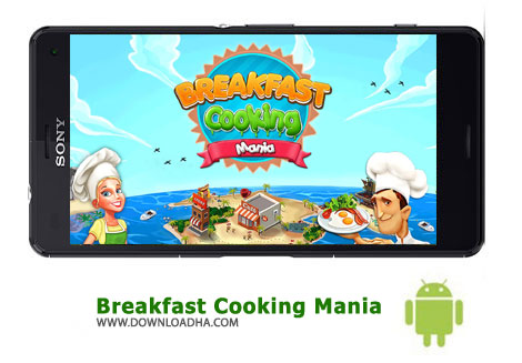 کاور-بازی-breakfast-cooking-mania