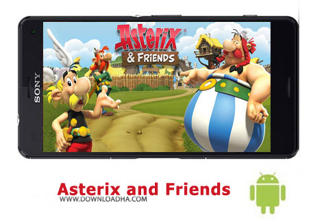 کاور-بازی-asterix-and-friends