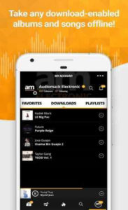 اسکرین-شات-Audiomack-Free-Music-Downloads