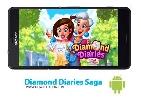 دانلود Diamond Diaries Saga v1.14.0.0 – بازی الماس خاطرات برای اندروید