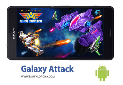 کاور-Galaxy-Attack