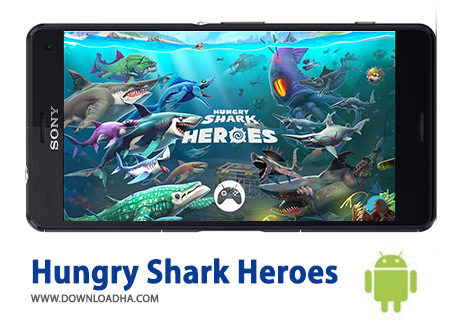 کاور-Hungry-Shark-Heroes