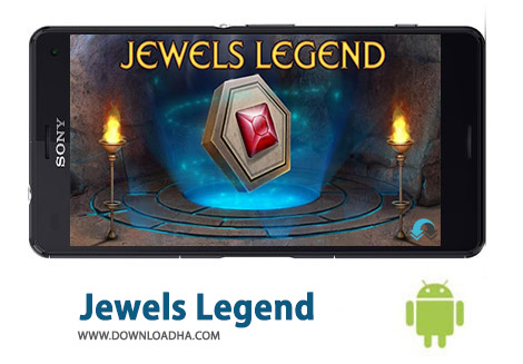 کاور-Jewels-Legend