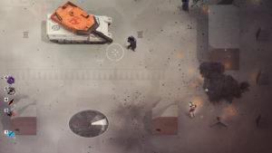 لقطة من لعبة Synthetik