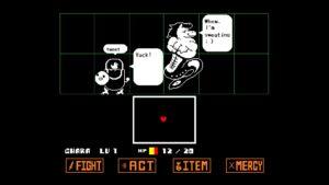 لقطة شاشة لـ Undertale PS4