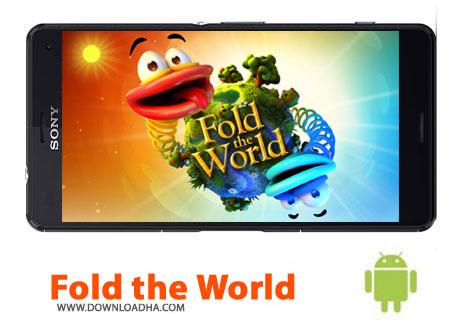 کاور-بازی-fold-the-world