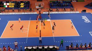 اسکرین-شات-بازی-Spike-Volleyball
