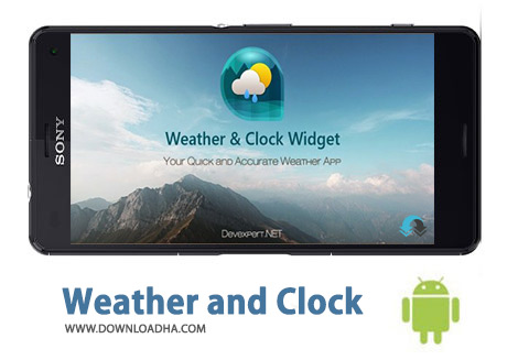 کاور-Weather-and-Clock