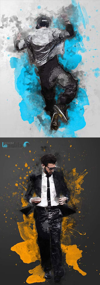 اکشن-فتوشاپ-abstract-painting-photoshop-action