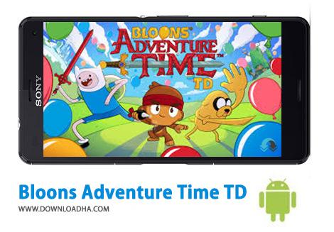 اسکرین-شات-Bloons-Adventure-Time-TD