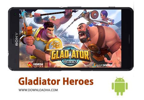 کاور-Gladiator-Heroes