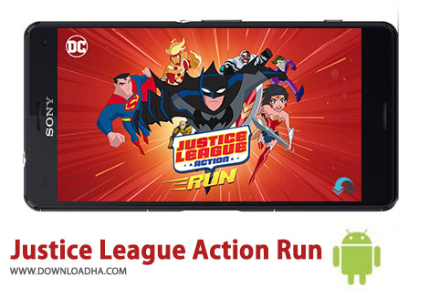 کاور-Justice-League-Action-Run